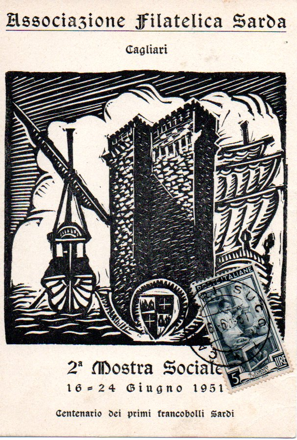 2^ cartolina - 1951