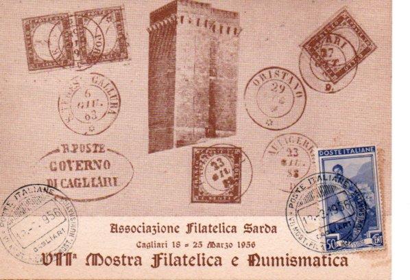 7^ mostra filatelica - 1956