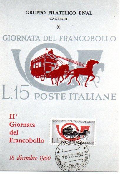2^ giornata del francobollo - 1960