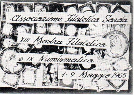 13^ mostra filatelica - 1965