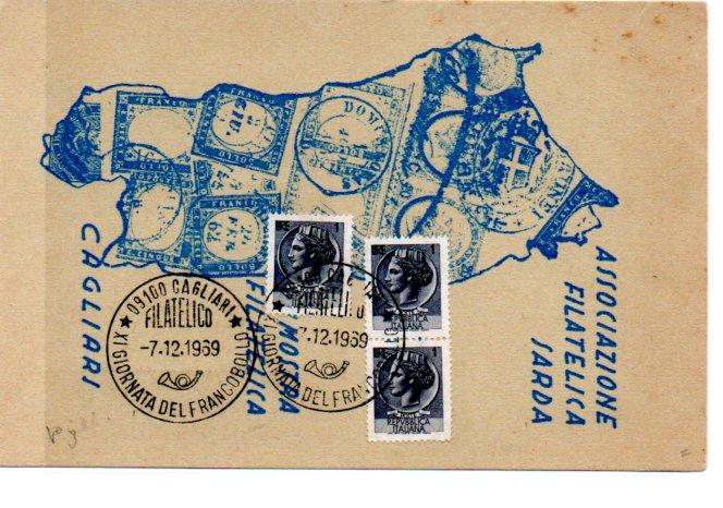 Giornata del francobollo - 1969