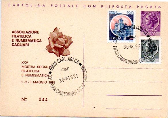 25^ mostra sociale - 1981
