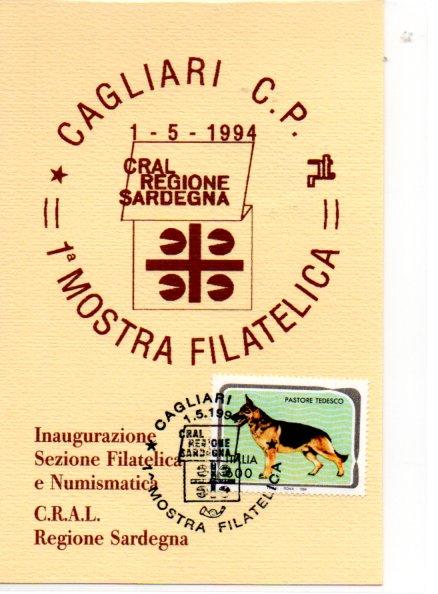 1^ mostra CRAL Sardegna - 1994