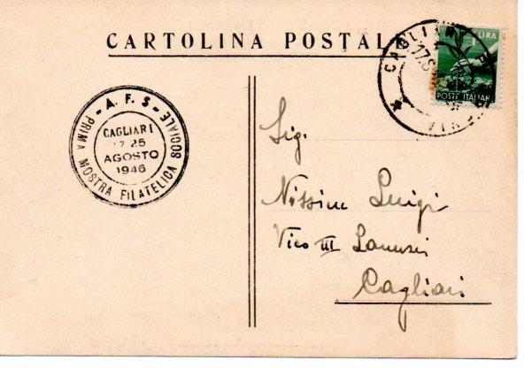 1^ mostra sociale - 1946