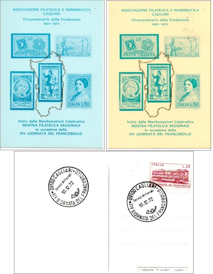 14 giornata del francobollo- 1972