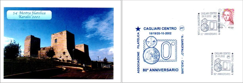 54^ mostra sociale - 2002 80° anniversario di fondazione