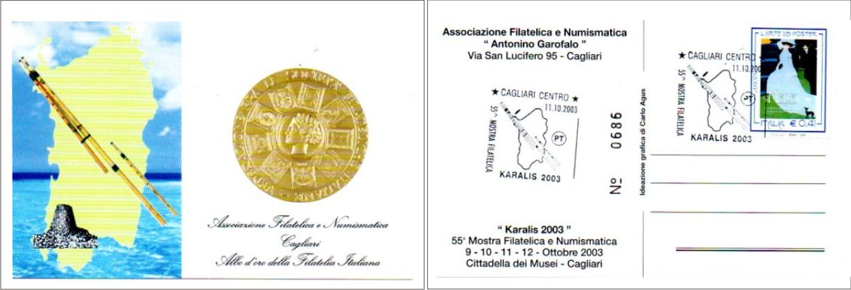 55^ Mostra filatelica - 2003