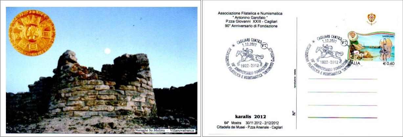 64^ mostra filatelica - 2012