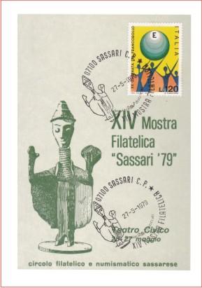 Sassari 14^ mostra filatelica - 1979