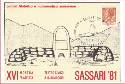 Sassari 16^ mostra - 1981