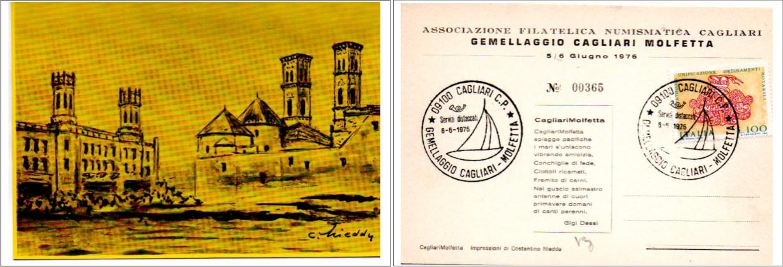 Gemellaggio Cagliari Molfetta - 1976
