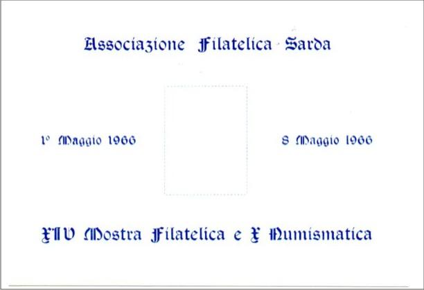 14^ mostra filatelica - 1966