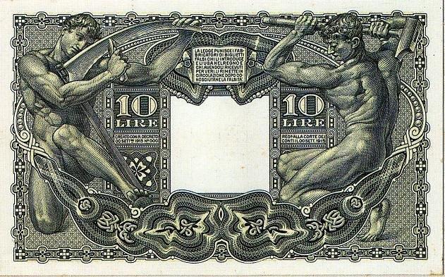 10 lire italiane