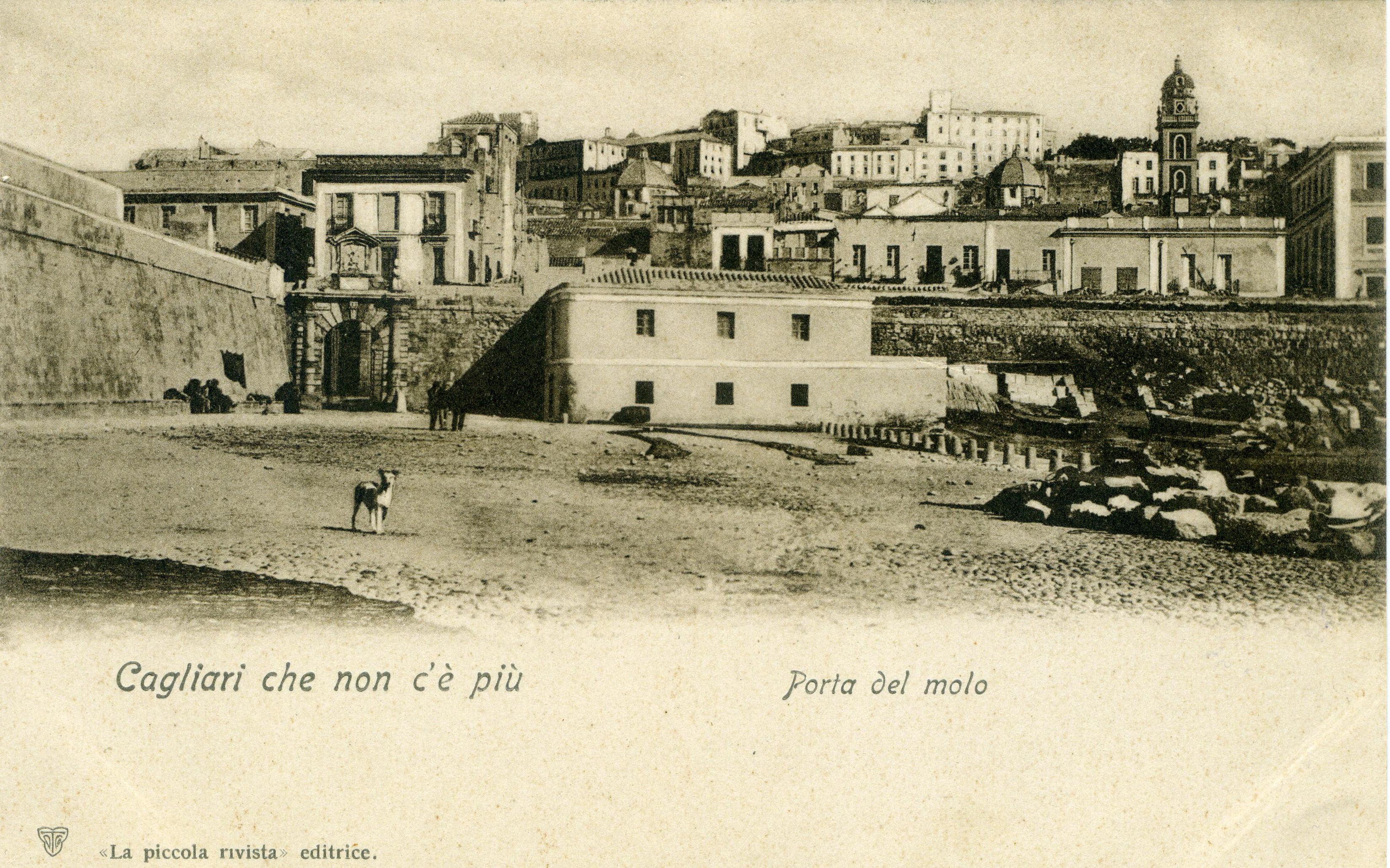 CAGLIARI - Porta del mare