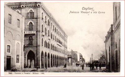 CAGLIARI - Palazzo Vivanet