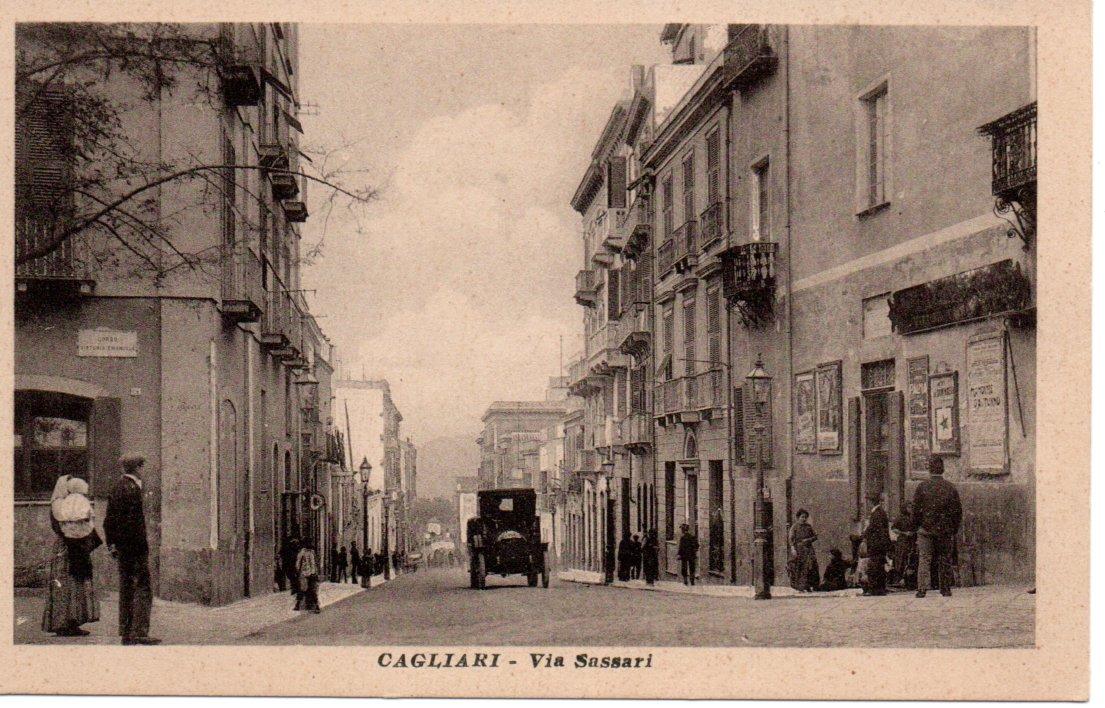 CAGLIARI - Via Sassari
