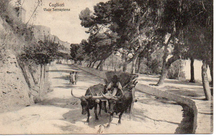 CAGLIARI - Viale Terrapieno