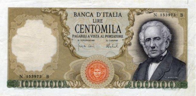 Lire italiane 100.000