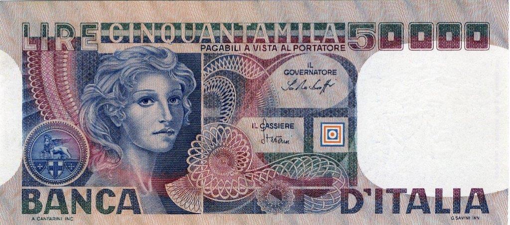 Lire italiane 50.000