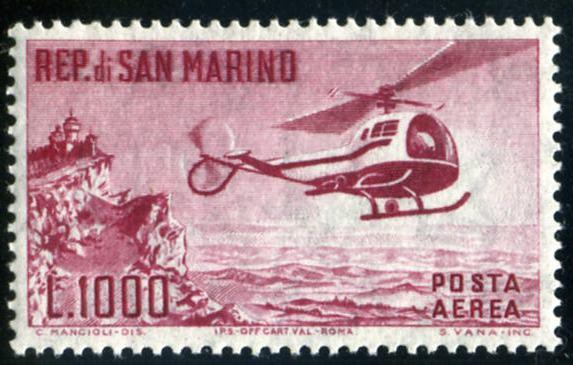 San Marino elicottero
