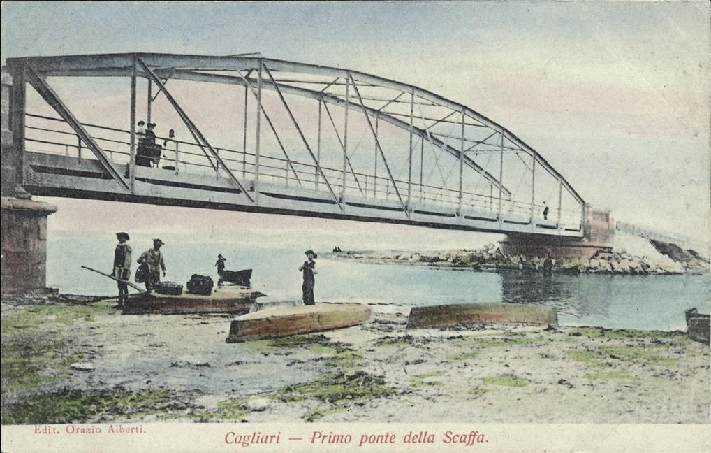 CAGLIARI - Ponte della Scaffa uno