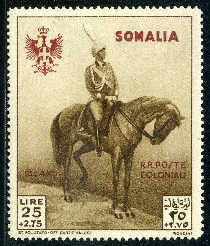 Somalia visita di Vittorio Emanuele