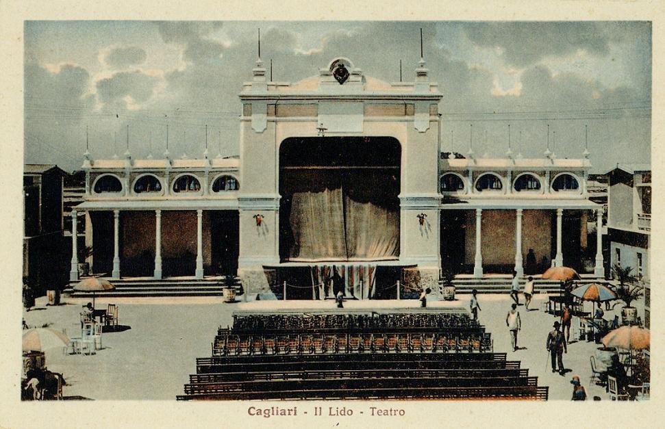 CAGLIARI - Teatro del Lido