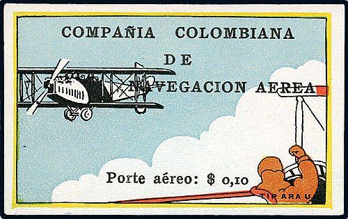 Posta aerea Columbia